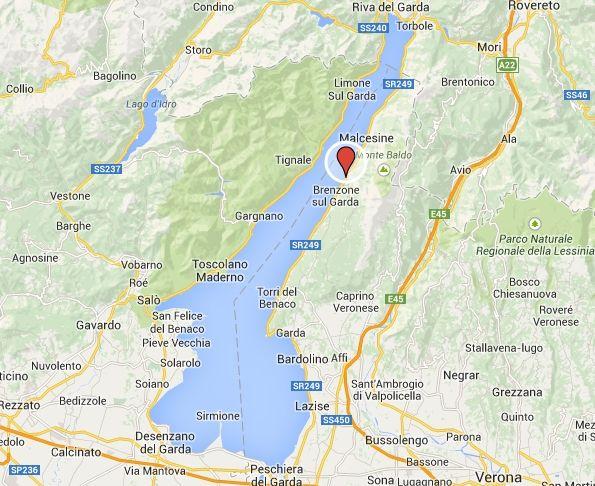 karte brenzone gardasee Ferienwohnung Gardasee Brenzone Günstig